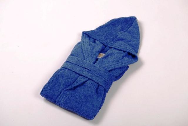 חלוק רחצה לילדים צבע כחול מידה